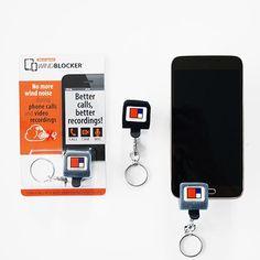 Innovatieve giveaway: Windblocker - zonder ruis bellen en video's opnemen! Zo is uw logo altijd zichtbaar! Best Phone, Giveaways, Logo, Logos, Logo Type, Environmental Print