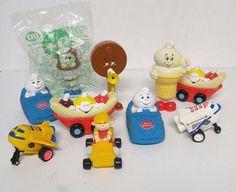 Vintage Dairy Queen Happy Meal Kids Toys Figurines Ice Cream Shuttle Pullback 10 #DairyQueen