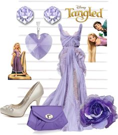 A fashion look from October 2012 featuring glass shoes, man bag and swarovski crystal jewelry. Browse and shop related looks. Disney Prom, Disney Bride, Disney Weddings, Disney Nerd, Disney Disney, Disney Style, Movie Outfits, Prom Outfits, Themed Outfits
