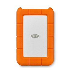Having the best hard drive when I'm on the road is probably the most valuable object of my travel gear. Even though it's pricey, the LaCie Rugged Mini is the best hard drive I ever found. I always buy the LaCie Rugged Mini for enough space. Usb, Lacie Rugged Mini, Macbook, Protection Iphone, Software, Portable External Hard Drive, Latest Laptop, Video Editing Apps, Hard Disk Drive