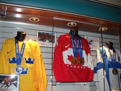 Anaheim Ducks Sochi Olympic Medals 2014 (photo by Theresa)