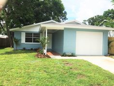 4241 66th Ave N, Pinellas Park, Fl.  33781.  Cute as a button freshly painted inside and out, light and bright 3 bedroom home. Open spacious updated kitchen with eat in dining, all new stainless steel appliances! Updated bathroom! New carpet throughout! AC new 2015! Perfect family home with large backyard! Call Noelle Morris 727-480-5346 today to set up a showing. Ranch Style Homes, Large Backyard, New Carpet, Stainless Steel Appliances, Updated Kitchen, Home And Family, Shed, Florida, Outdoor Structures