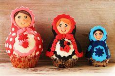 Desirvientadas: Matrioskas Cupcakes