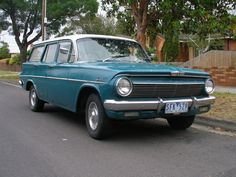 Holden Station Wagon - My dad had one of these but it was brown...loved it!
