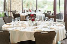 Firecliff Ballroom Wedding Reception - Desert Willow Golf Resort Wedding Venue #desertwillowweddings