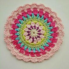 Pretties for Spring: Crochet Mandala (hat inspiration)