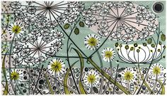 """""""The Church, Salthouse"""" linocut print by Angie Lewin http://www.angielewin.co.uk/products/the-church-salthouse-37-45"""