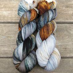 Coffee Break - Yummy 3-Ply - Babette | Miss Babs Hand-Dyed Yarns & Fibers, Inc.