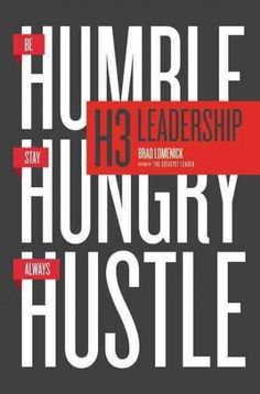 H3 Leadership provides a practical road map for implementing and living out the transformational habits of a leader. True leadership can be complex. Brad Lomenick keeps it simple with the three transf
