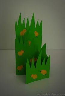 Kortteja ja vähän muuta: Pääsiäistipukortti