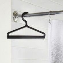 Umbra hanger, een kledinghanger als badkamerwisser, erg leuk!