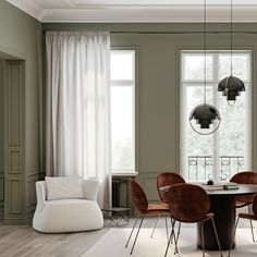 From ordinary to extraordinary, simple skirting boards and dado rails are an effective way to transform any space. Nordic Interior, Interior Design, Dado Rail, Panel Moulding, Skirting Boards, Ceiling Rose, Cornice, Nordic Design, Wall Decor