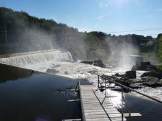 Fairfax Falls.   The beauty lies in the chaos.  Fairfax, Vermont