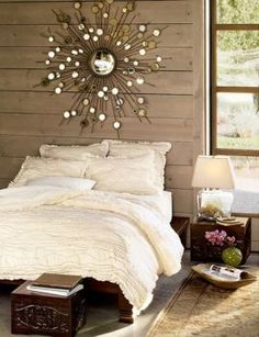Modern monochrome is the latest in designing the bedroom. If you check out some of the newest interior design magazines, you will notice that it is one of the dominant styles. Here are some modern … Dream Bedroom, Home Bedroom, Bedroom Decor, Wall Decor, Wall Art, Master Bedroom, Design Bedroom, Bedroom Ideas, Pretty Bedroom
