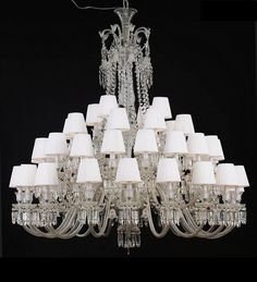48 Light Crystal Baccarat Chandelier