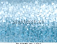 Abstract blue glitter soft focus background
