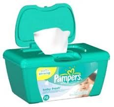 Save $0.25 off ONE Pampers Wipes 56 ct or higher!
