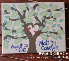 Custom Scripture or Quote Painting 11X14X1 by graceelliott10