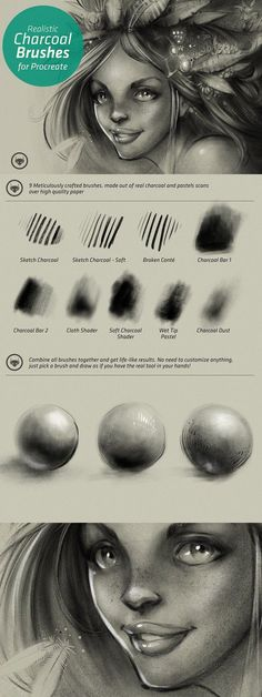 Charcoal Drawing Tips Charcoal Set - Procreate Brushes. Brosses Photoshop, Photoshop Brushes, Photoshop Tutorial, Best Procreate Brushes, Charcoal Art, Charcoal Drawings, Charcoal Drawing Tutorial, Drawing Techniques, Drawing Tips