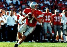 The school's single-season record holder for passing yards (3,576) by a QB in Buckeyes history is held by Joe Germaine.  Germaine helped Ohio State to an 11-1 record and a No. 2 ranking in the final polls after his outstanding contribution that year. He completed 230-of-384 (59.9 percent) threw for 26 TDs and seven INTs, ending with a 156.8 passer efficiency.  He finished with 439 completions, 6,616 yds and 57 TDs in his career with the scarlet and gray.