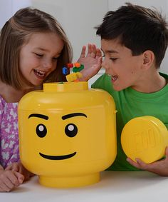 Another great find on #zulily! Yellow LEGO Sort & Store #zulilyfinds