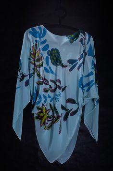 Fabric Blouse, Long Sleeve, Artist, Fabric, Sleeves, Tops, Women, Fashion, Tejido