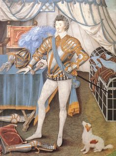 Sir Anthony Mildmay by Nicholas Hilliard, c.1585. (Cleveland Museum of Art)