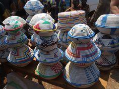 Baskets in Burundi