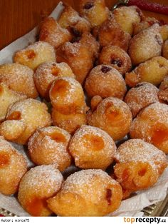 Tvarohové kobližky Pretzel Bites, Doughnut, Food And Drink, Treats, Cooking, Sweet, Desserts, Recipes, Fine Dining