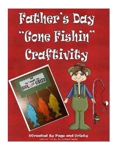 Have your kids create a one-of-a-kind craft to let their dads know that he caught them - Hook, Line, and Sinker!  $2.00