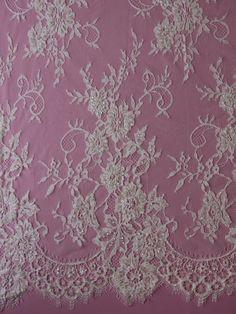 Ivory Beaded Lace - Jamie