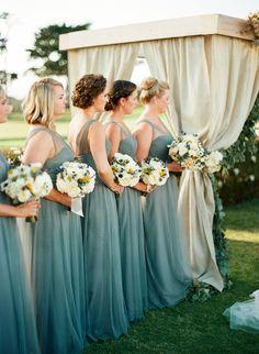 Photography: Clayton Austin - loveisabird.com Read More: http://www.stylemepretty.com/2015/04/10/rustic-outdoor-pebble-beach-wedding/