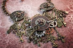See our new post (Steampunk Necklace Tutorial) which has been published on (Explore the World of Steampunk) Post Link (http://steampunkvapemod.com/steampunk-necklace-tutorial/)  Please Like Us and follow us on Facebook @ https://www.facebook.com/steampunkcostume/