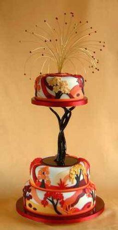 Art nouveau cake~