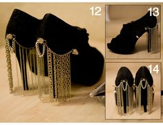 The Skinny DIY Chain Heels