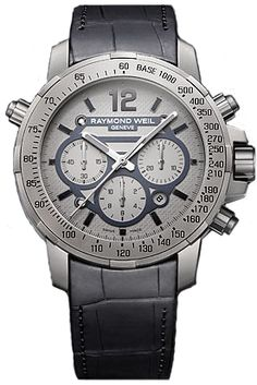 7820-STC-05607  NEW RAYMOND WEIL NABUCCO MENS WATCH    Usually ships within 8 weeks - FREE Overnight Shipping - NO SALES TAX (Outside California)- WITH MANUFACTURER SERIAL NUMBERS - Grey Dial - Chronograph Feature  - Self Winding Automatic Movement- 3 Year Warranty  - Guaranteed Authentic - Certificate of Authenticity - Manufacturer Box