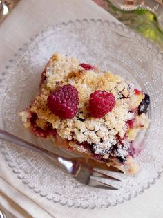 Polish Recipes, Polish Food, Healthy Desserts, Yogurt, Oatmeal, Fruit, Breakfast, Sweet, Blog