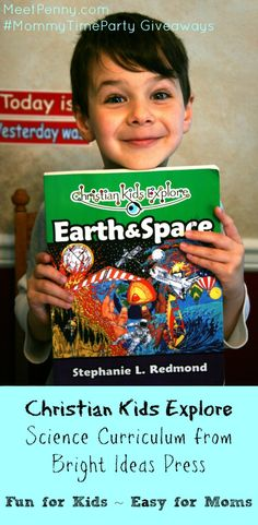 Christian Kids Explore is homeschool science curriculum by @Katya du Bois Ideas Press. Fun for the children but easy for the Mom.