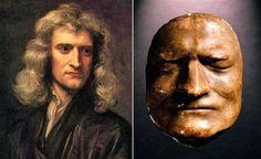Isaac Newton (1642-1727) – cause of death: kidney stone; aged 84.