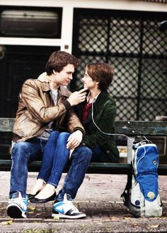 The Fault in Our Stars - Ansel Elgort + Shailene Woodley