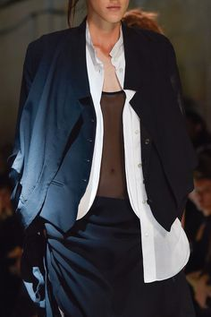 Ann Demeulemeester at Paris Fashion Week Spring 2015 - Details Runway Photos