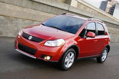 American Suzuki will stop selling this SX4 and other autos in the U.S.
