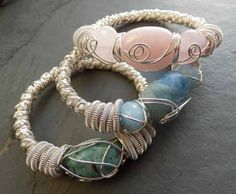 Nature Inspired Wire Work by Rachel Norris - The Beading Gem's Journal