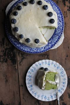 Kale and Apple Cake with Apple Icing - Veggie Desserts