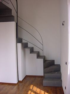 1000 images about progetti casa on pinterest stairs - Scale in lamiera piegata ...