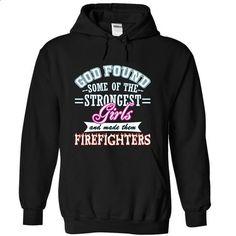 Firefighters Girl T-SHIRT - #champion hoodies #t shirt companies. MORE INFO => https://www.sunfrog.com/LifeStyle/Firefighters-Girl-Black-12640073-Hoodie.html?60505