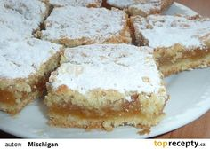 Křehký jablkový koláč recept - TopRecepty.cz
