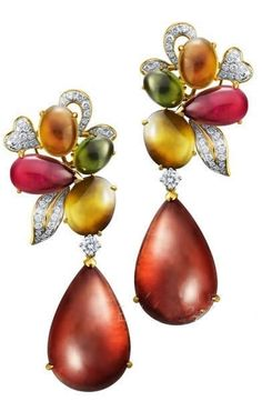 ENZO Fine Tourmaline Earrings. <3