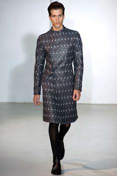 Mugler Spring 2013 Menswear Collection - Vogue