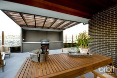 An outdoor living area perfect for entertaining during the warmer months
